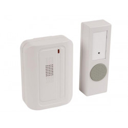 Bell chime wireless door bell 1 transmitter button panic alarm security edb5