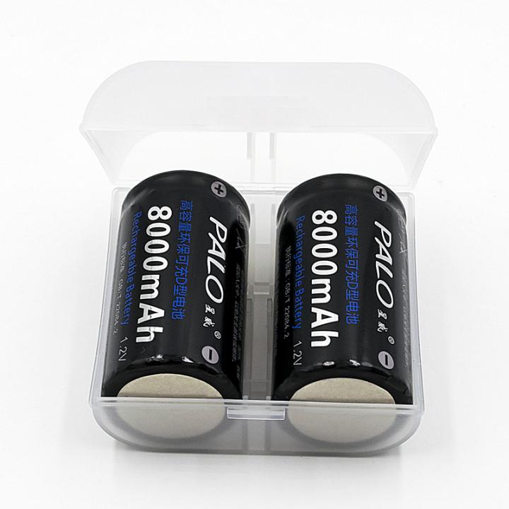 Bateria recargable 1.2vcc 2500ma r20d (las 2 baterias ) pila seca pilas accu