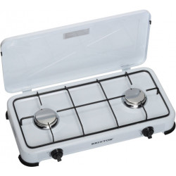 Butane or propane gas stove 2 burners burners rtris ko 6382 for camping outdoor kitchen
