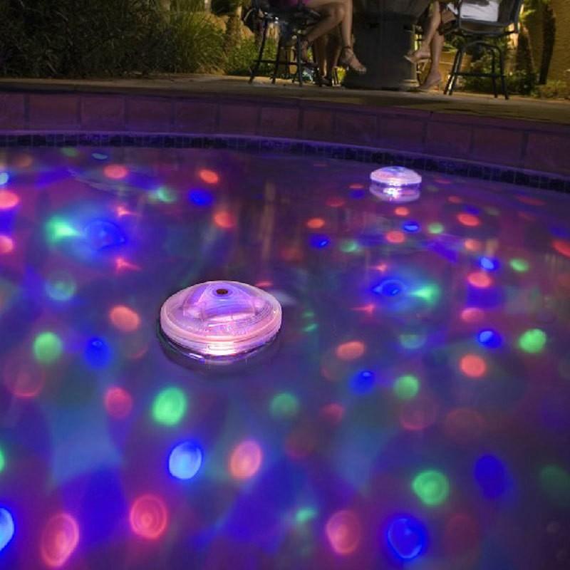 Eclairage Flottant Led Ambiance Festive Disco Pour Piscine Ou Spa