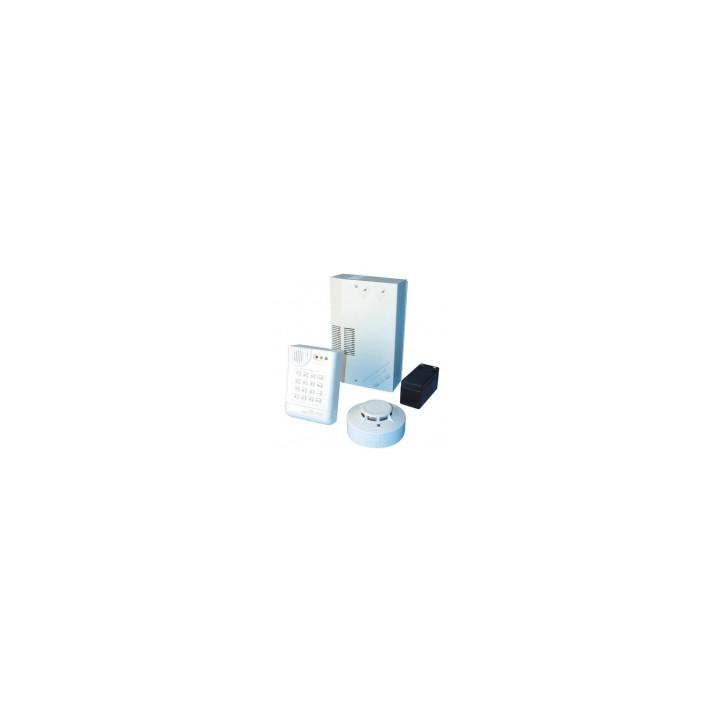 Rauchmelderset mit telefonwahlgerat elektronische alarmanlage bausatz mit telefonwahlgerat rauchmelder