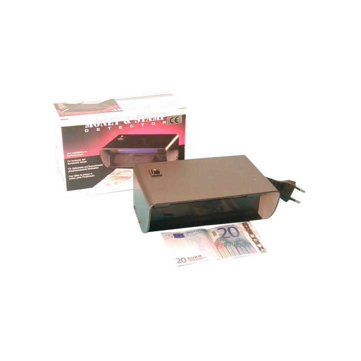 Detector billetes falsos y falsa moneda por tubo electrico e ultravioletes 220vca 4w (md108v) detector billetes falsos