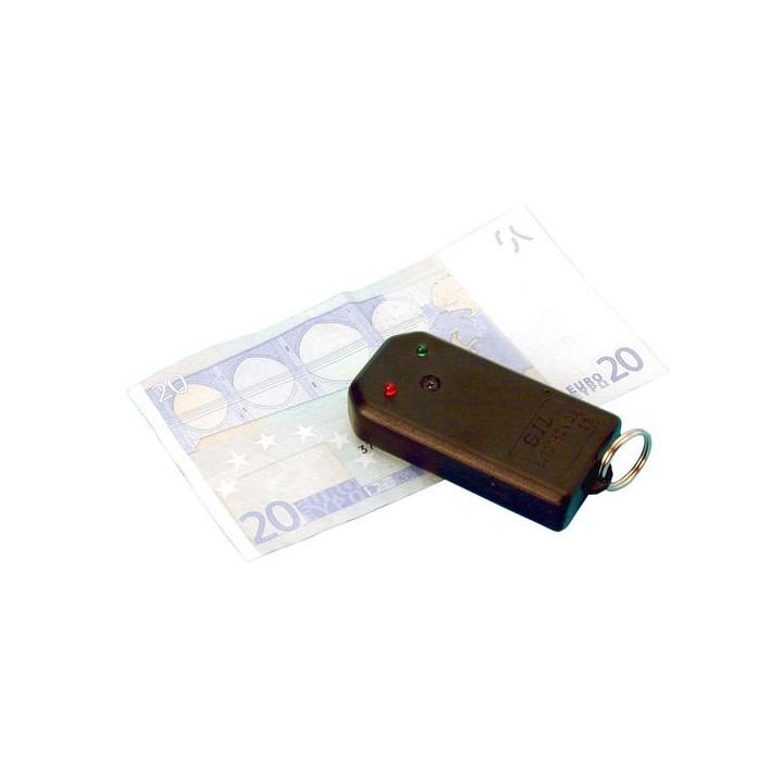 Detecteur faux billet par fil magnetique euro dollar detection