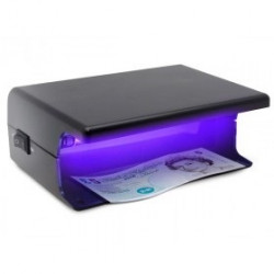 Detector counterfeit bank notes uv detector, 220vac 4w fake notes ultraviolet detection system fake bill us bank note card detec