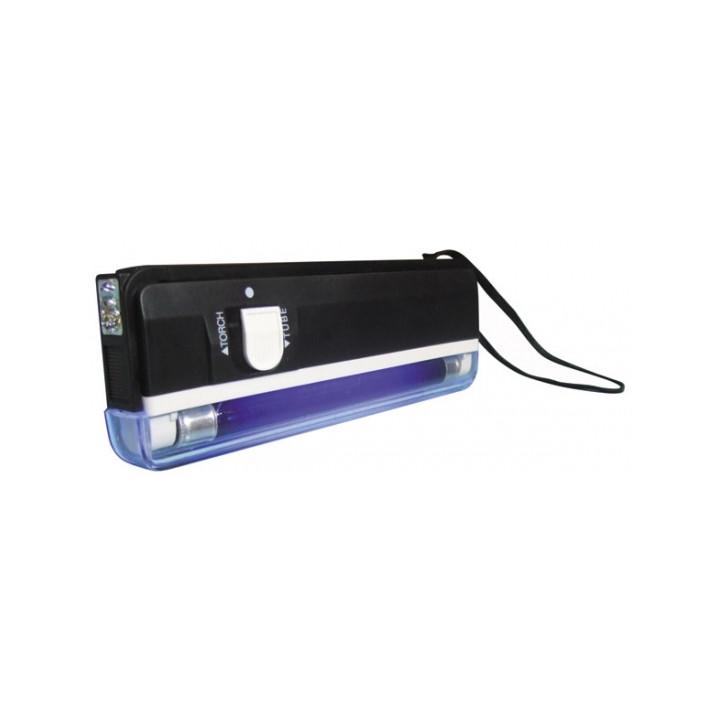 Lampe uv detecteur de faux billet lumiere noire lamp04tbl zluvb ultraviolet carte bancaire