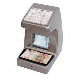 Moniteur video detecteur uv de faux billet banque carte bancaire 220v detection
