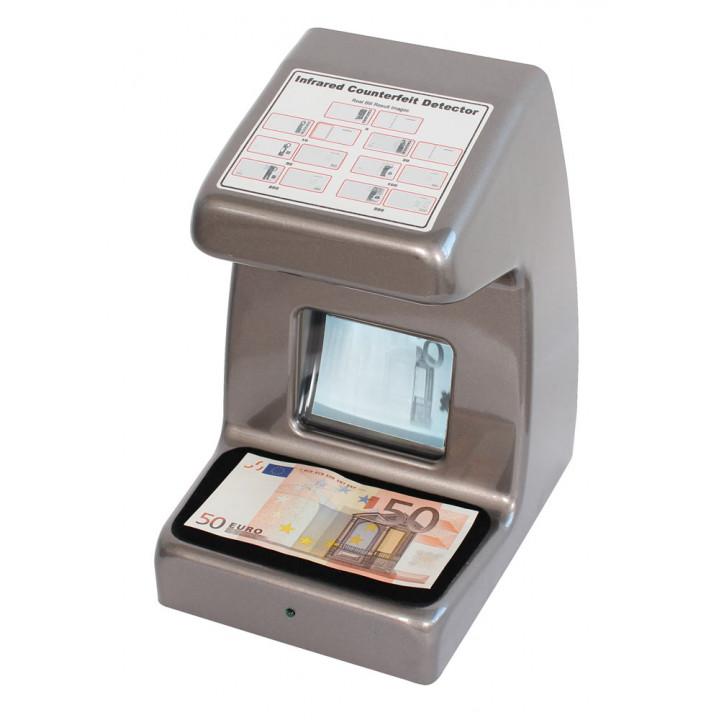 Moniteur video detecteur uv de faux billet banque carte bancaire 220v detection