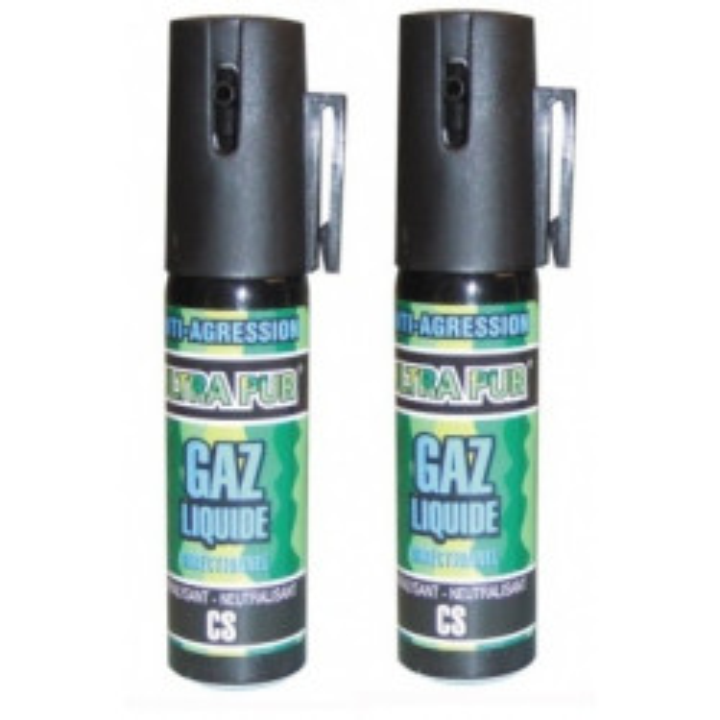 2 cs gas abwehrspray 2% 25ml kleines modell cs abwehrspray abwehrsprays mit cs gas selbstverteidigung sicherheitsartikel selbsts