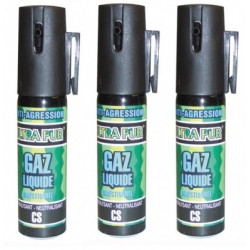 3 defensive spray paralising gas cs spray self defence, 2% 25ml lachrymatory bend tear gas bear spray cs spray chemical weapons