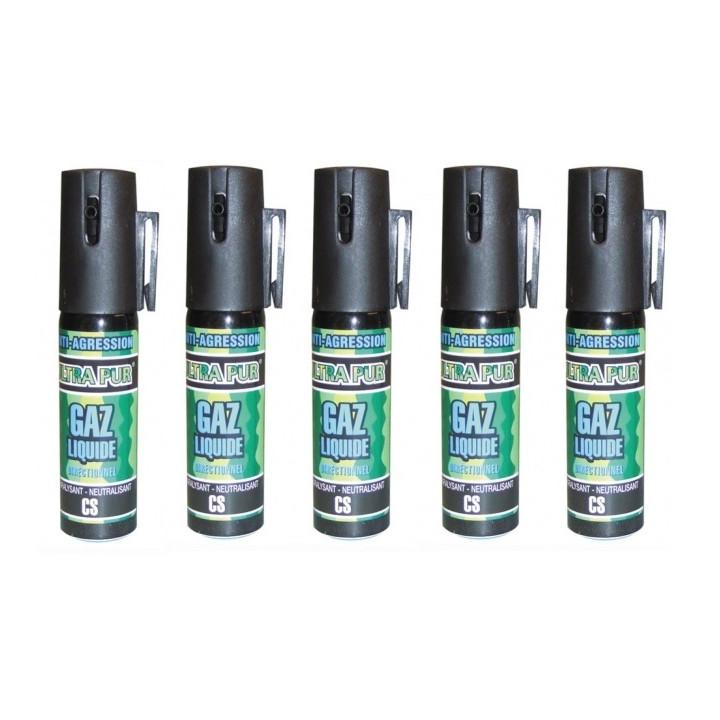 5 aerosol gas paralisante 2% 25ml pequeño modelo anti agresion autodefensa antirrobo proteccion individual seguridad