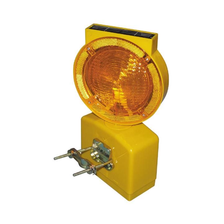 Lampe de chantier 6v lanterne solaire 1200 mètres eclairage lumiere secour securité routiere xh-s302