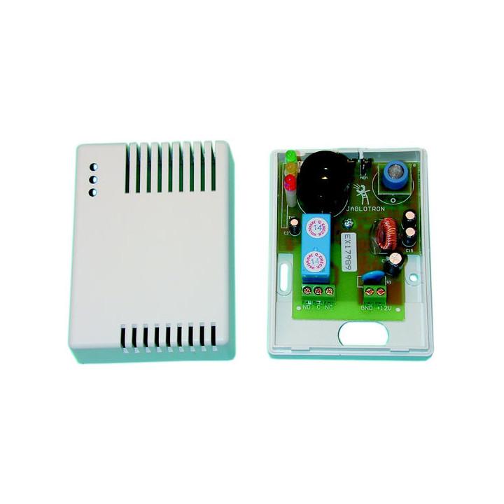 Detector de gas 12vcc + rele inversor gas natural metano propano butano acetileno gpl hidrogeno detecciones gases