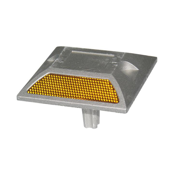 Aluminium-straße gestüt lichtreflektor beleuchtung markup verkehrssicherheit