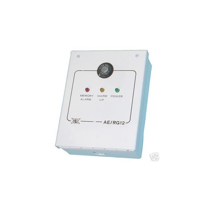 Detector escape gases 12v alarma on off gas soporifico metano propano butano acetilano gpl hidrogeno 12v