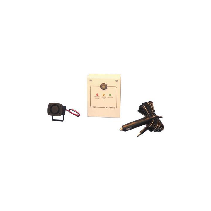 Pack detector gas leak alarm siren 12v methane propane butane ether fuel lpg acétylèn