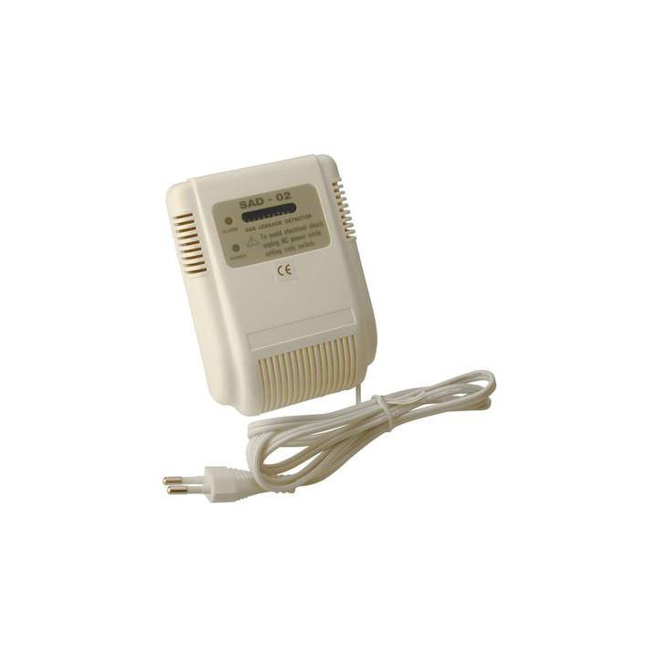 Detector gas inalambrico 20 40m 433mhz para alarma inlamabrica ce1 detecciones alarmas incendios deteccion