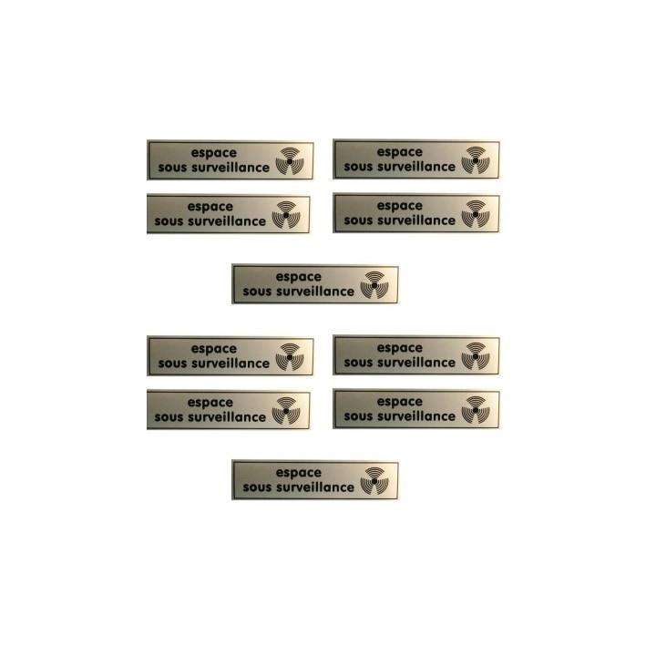 10 etichette di segnalazione relazioni adesivo spazio di monitoraggio video adesivo cartellone