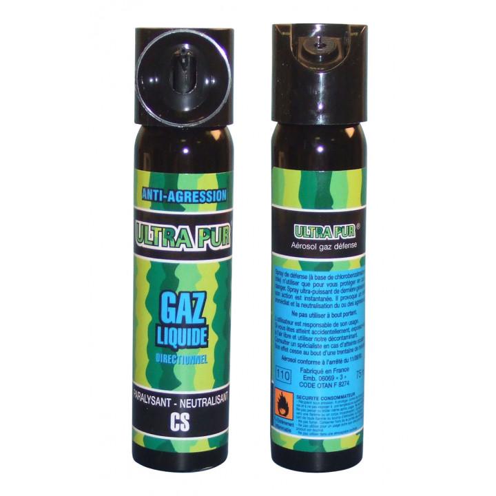 2 aerosols paralyzing gas pepper 75ml police pepper spray repels dog pepper spray safety