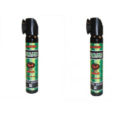 2 aerosols paralyzing gas pepper 75ml police pepper spray repels dog pepper spray safety