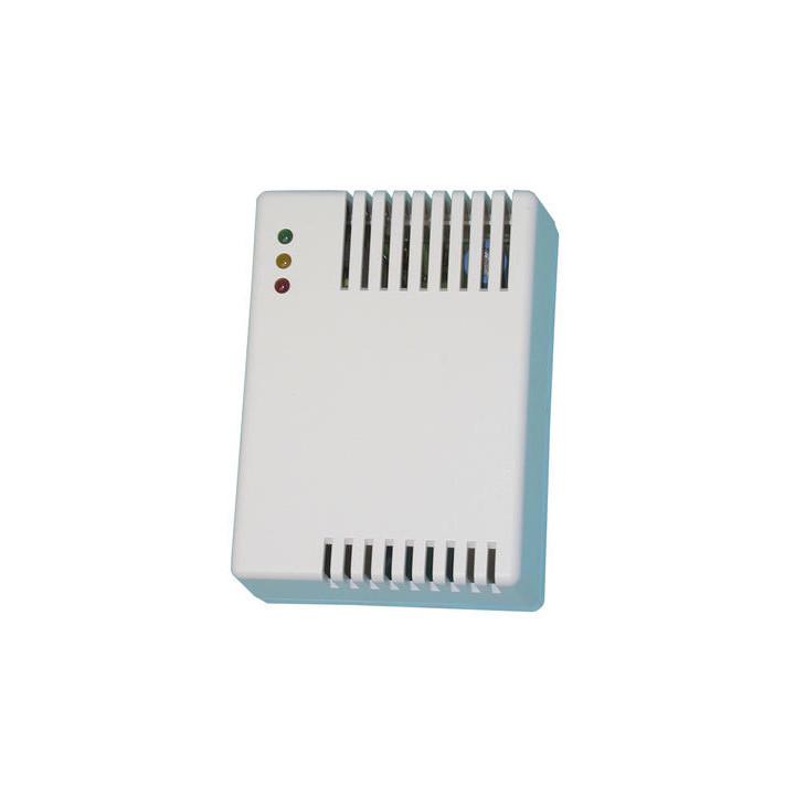 Detector de gas 220vca con rele (gs130) detector alarma incendio deteccion gases metano propano metileno detecciones
