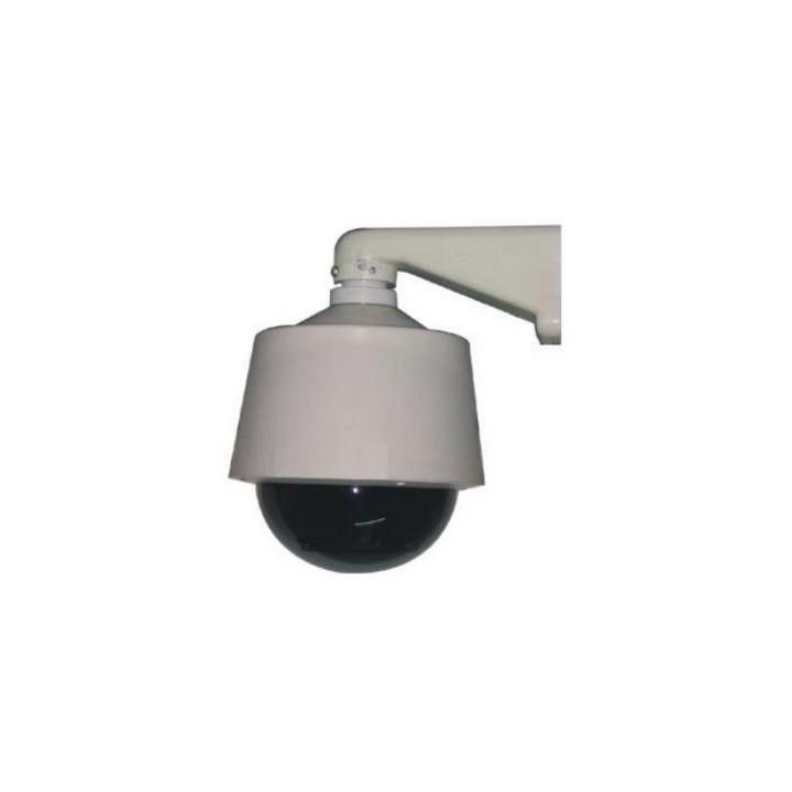 Kuppel fur horizontale motorisierte tourelle ausentourelle videouberwachung sicherheitstechnik schutz