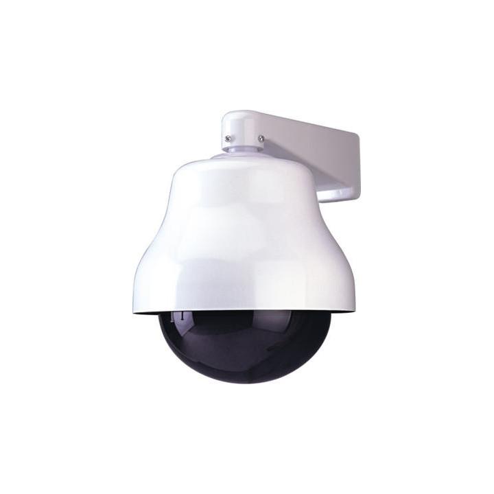 Kuppel fur horizontale vertikale motorisierte tourelle ausentourelle videouberwachung sicherheitstechnik schutz