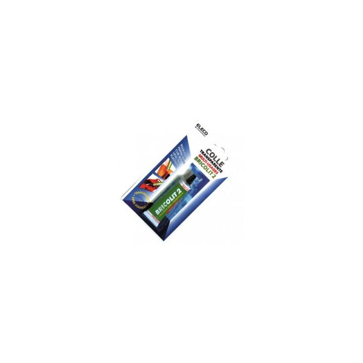 Plástico adhesivo transparente y sin papel especial de cartón qubricolit2 solvente