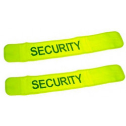 2 safety armband yellow 'security'