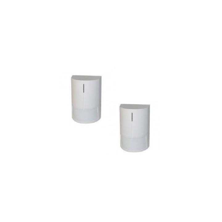 2 detector alarm detector 12vdc infrared, 1 contact 120° 12m pulse detector js20 electronic pulse detectors