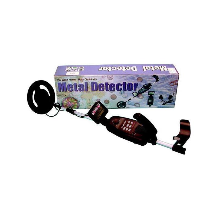 Alquiler detector de metal (de 1 a 10 días) oro plata moneda joya 6.6khz caza tesoro metal metales detector