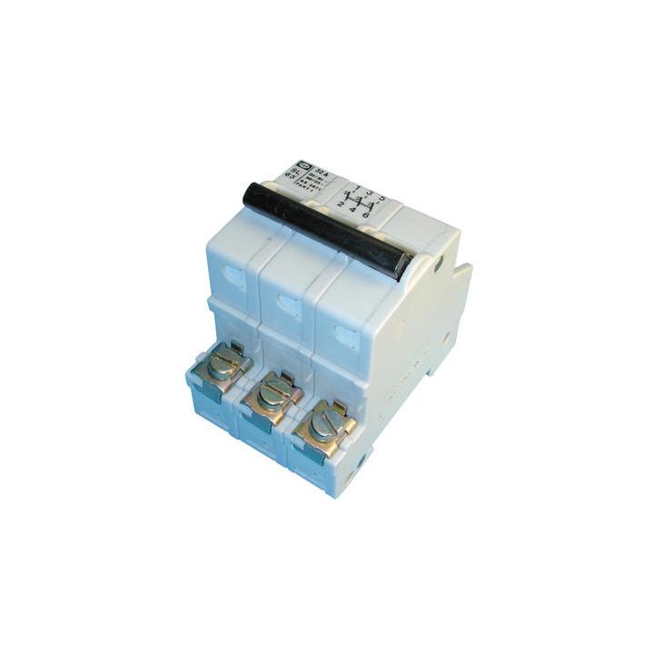 Dreipoliger unterbrecher 32a sicherheitstechnik elektronik elektrischer elektrische