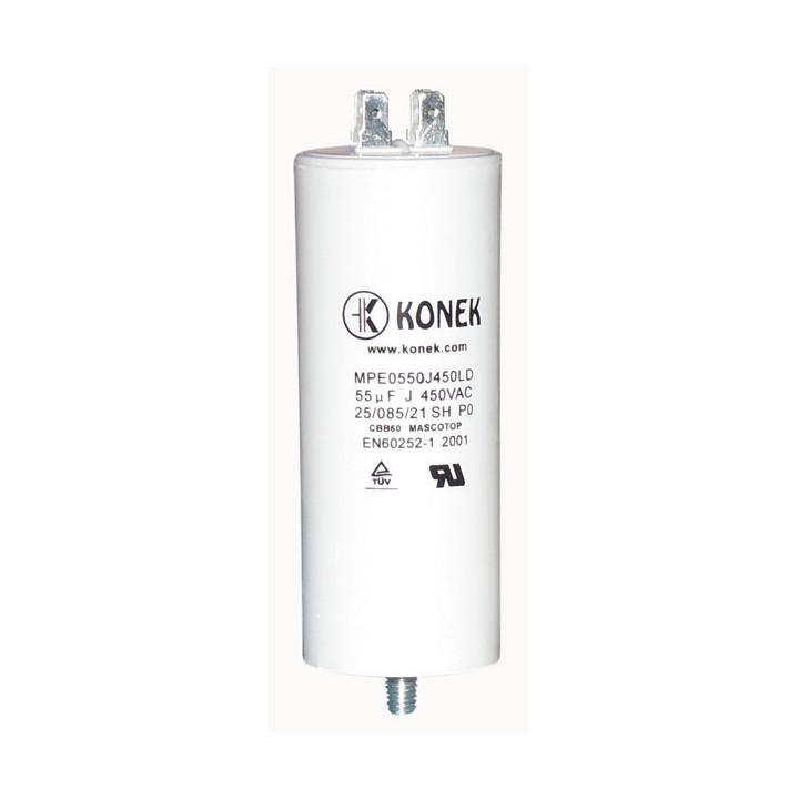 Condensatore 55?f 55mf 55 micro farad 450v 50/60 hz condominio di avvio del motore pod cddem450v55mf