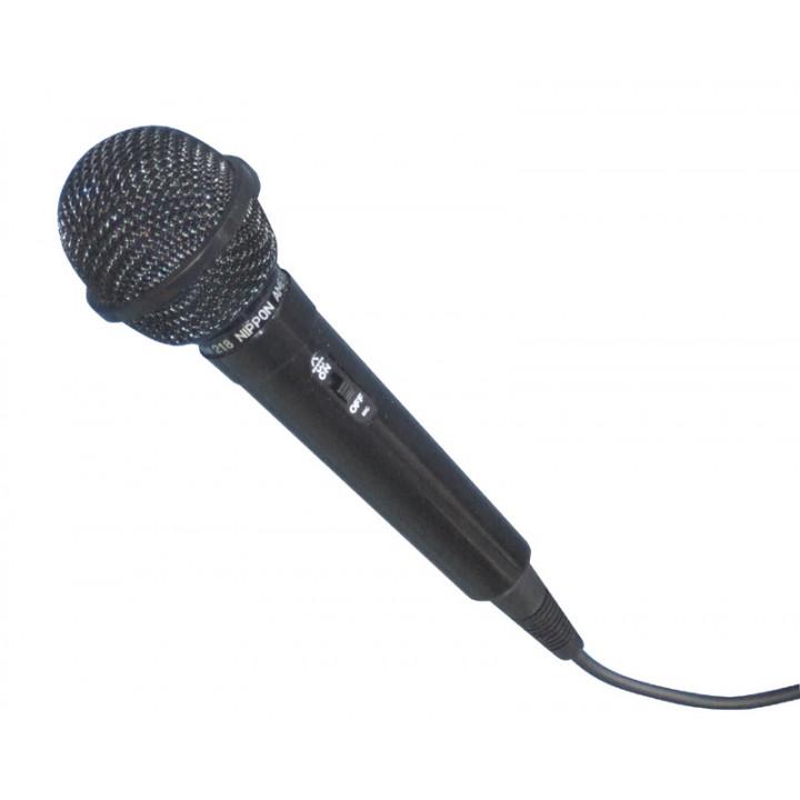 Microphone avec fil dynamique mic3b fiche 6.35 ou xlr micro ideal karaoke sonorisation