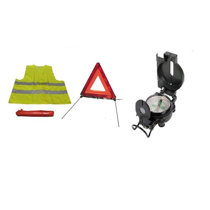 Kompass mit lupe faltbar fur militare doppel zurechtfindung orientierungslaufkompass und sicherheitspack fur strasse dreieck fur