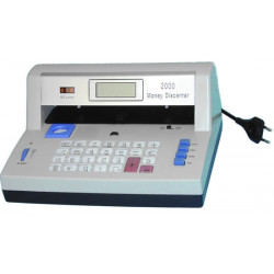 Detecteur uv sonore faux billets banque calculatrice detection dp-2000