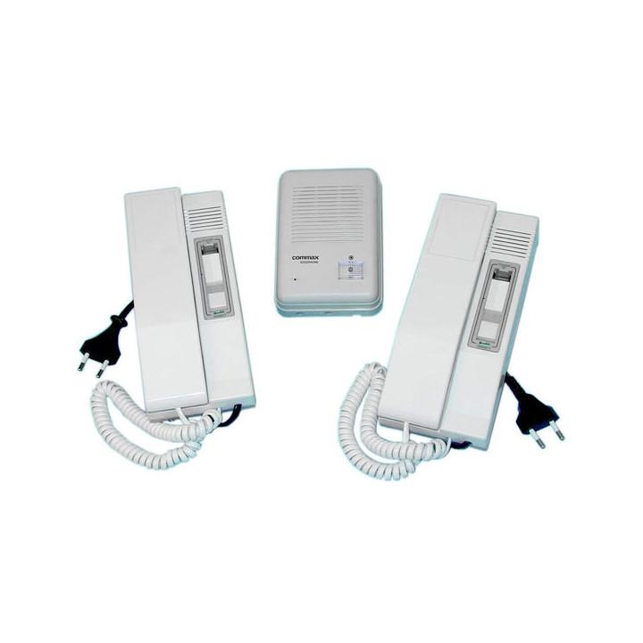 Doorphone pack with 2 handsets 2 handset intercom house apartment interfom system 2 handset intercom house apartment interfom sy