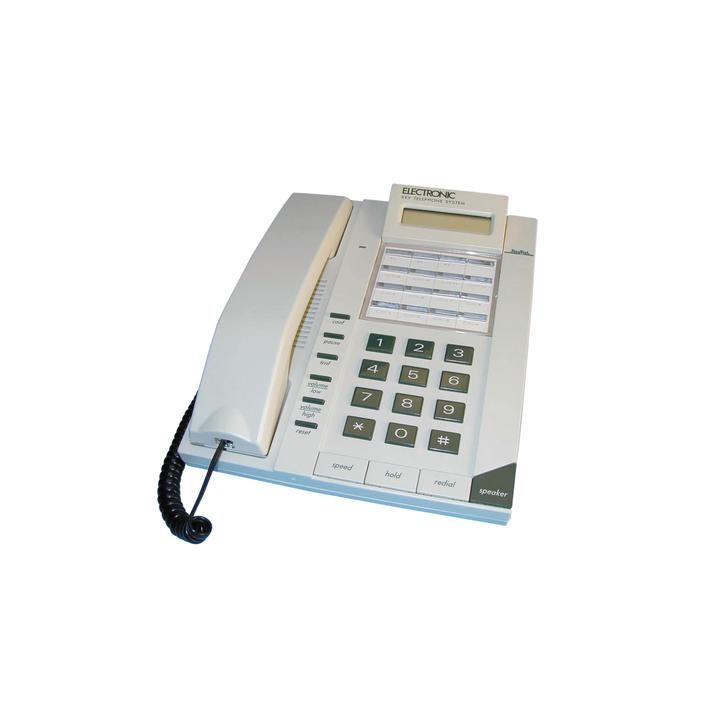 Telephone main libre filaire 2 voies lcd pour pabx 12l48p gt kt3000sp telephonie autocom