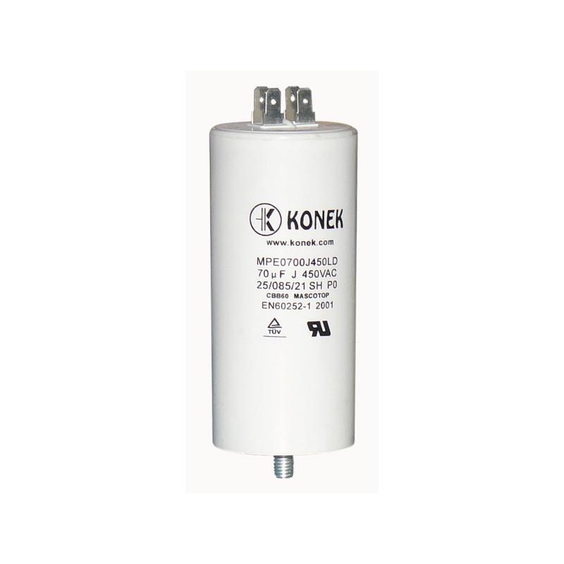 2 Condensatori Elettrolitici 2200uF micro farad 6,3V volts 105°