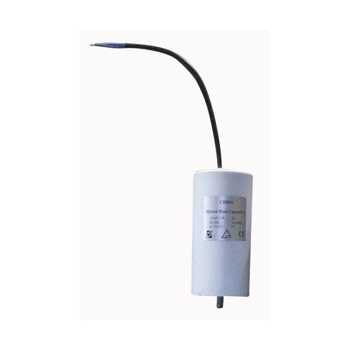 Condensateur permanent 100uf a fils demarrage moteur condo 100 uf mf micro farad cable