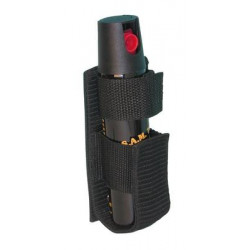 Holster for 75ml aerosol – cordura – without flap for self defense spray gazgm gelgm gelgr gpgm security defense