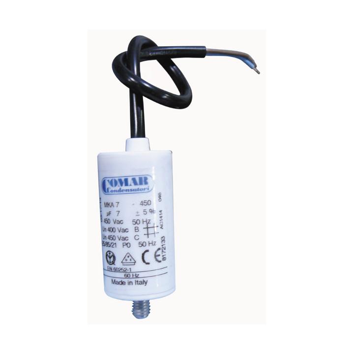 Condensateur de démarrage cbb60 7mf 7 mf micro farad 400v 450v 500v condo moteur a fil