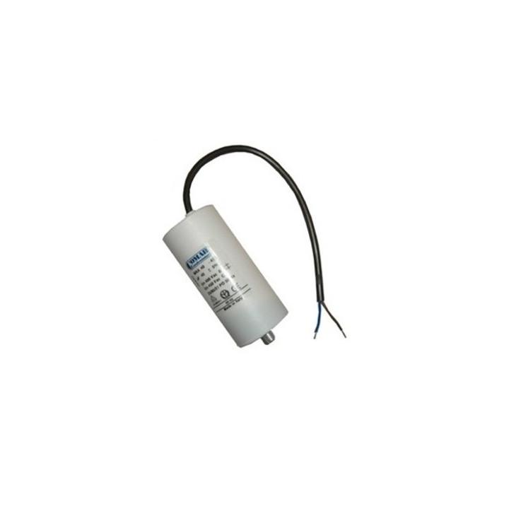 Condensateur de démarrage 7uf 7 mf 7,5mf 7.5 mf micro farad 400v 450v 500v condo moteur a fil