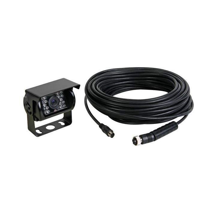 Opcional de la cámara del coche 12v + cable de 20m para cam19 camset21
