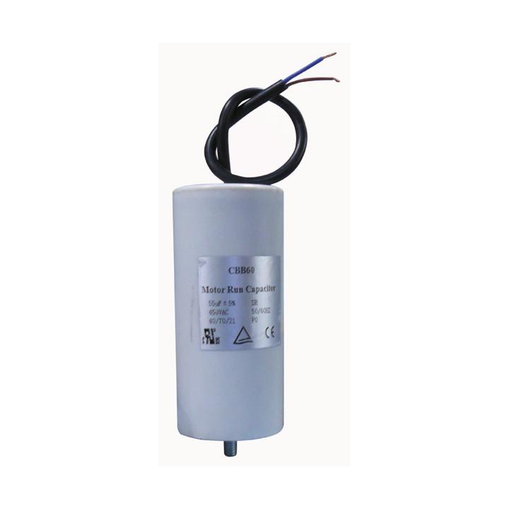 Start capacitor 55 mf micro farad 400v 80-b cddempe8000al