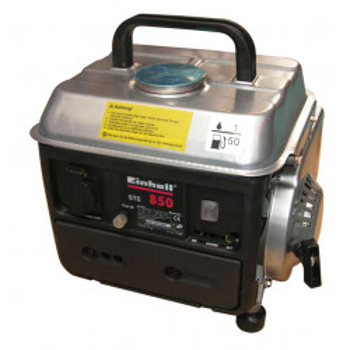 Power generating unit 220v 800w 1,1 kw 1,5 ps einhell electrical power generating unit help electrical current ste850