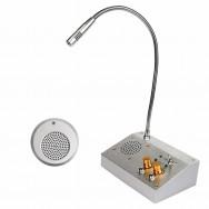 Interphone fenetre guichet de banque station essence poste de base microphone F4455A 220v