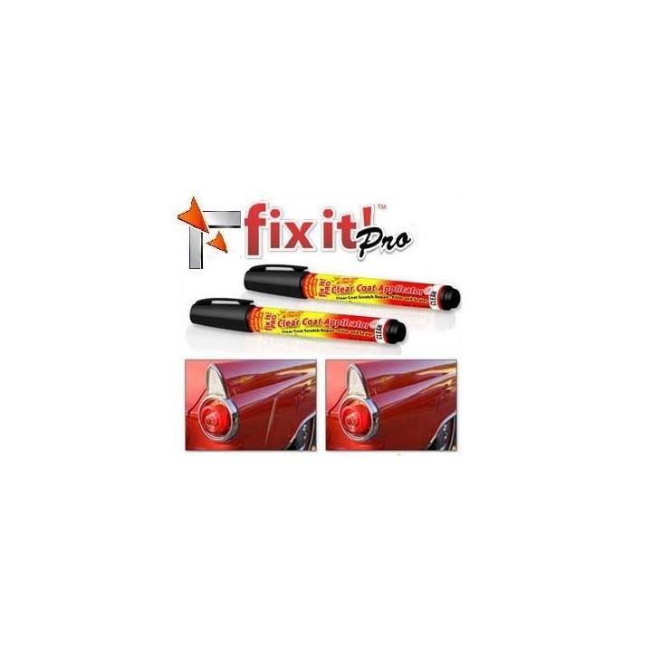 2 es pro fixt pluma borra resistente a los arañazos de reparación de carrocerías de automóviles de renovación del acabado de pin