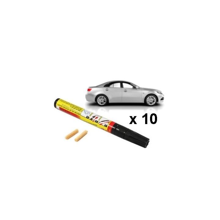 10 x  pro fixt pluma borra resistente a los arañazos de reparación de carrocerías de automóviles de renovación del acabado de pi