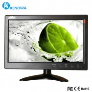 "10.1 ""LCD HD Monitor Mini TV y pantalla de computadora Pantalla en color 2 canales Video Input Security"
