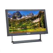 """Schermo 13 """"Monitor IPS 13 pollici 16: 9 Risoluzione 1920x1080 Audio video con ingresso VGA BNC HDMI AV USB"""